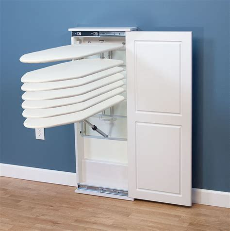 Ironing Board Storage Cabinet Closet Ironing Board System Home Design Ideas