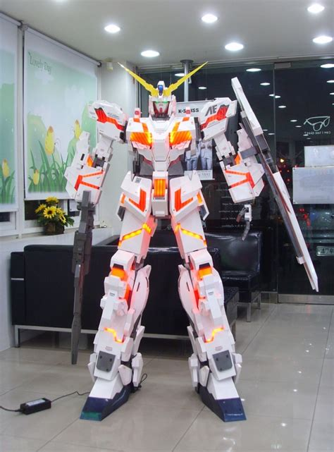Gundam Unicorn Papercraft - papercraft 180cm unicorn gundam destroy mode