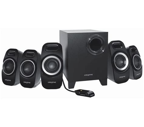 Speaker Yamada creative labs inspire t6300 5 1 pc speakers bluewater