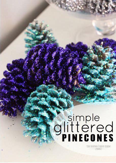 decorare pigne x natale decorazioni natalizie con le pigne ecco 20 idee creative