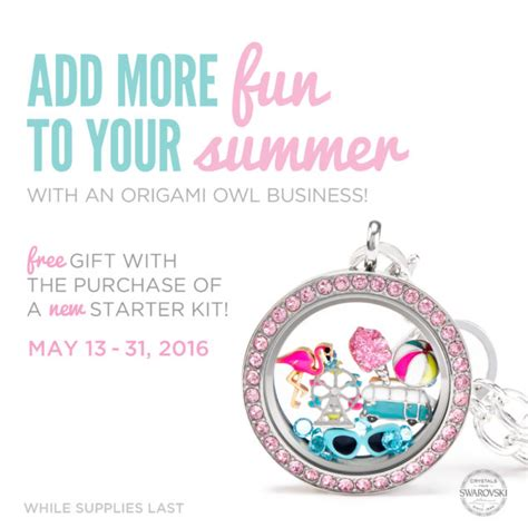 Origami Owl Returns - free origami owl locket ensemble for joining may 13 31