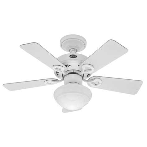 36 Ceiling Fans With Lights Shop 36 In Bainbridge Textured White Ceiling Fan