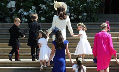 Kids at the Royal Wedding 2018 Pictures   POPSUGAR