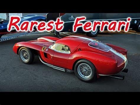 rarest ferrari 10 rarest classic ferrari and their engines youtube
