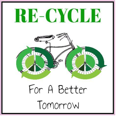 Stiker Re re cycle bike better tomorrow sticker u s custom stickers
