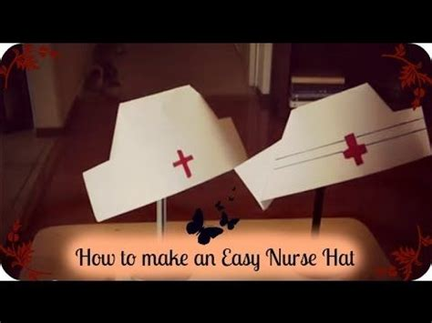 How To Make A Nurses Hat Out Of Paper - 17 best images about my rn graduation on