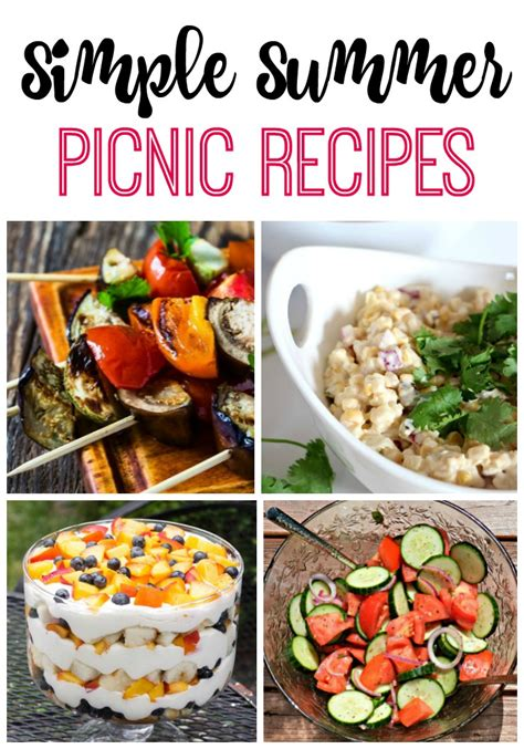 simple summer picnic recipes redhead can decorate