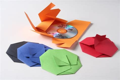 Origami Cd - 36 best images about cd packaging on