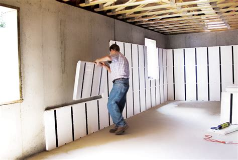 basement panels for walls diy a basement cost comparison insofast continuous insulation