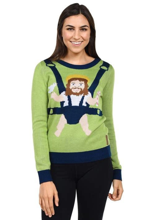 To Sweater Happy novelty sweaters s happy birthday jesus sweater by tipsy elves baby jesus