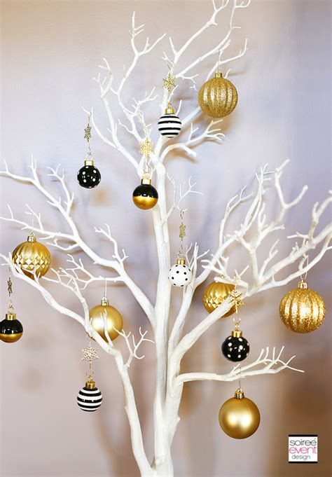 contempory xmas tree toppers to make how to mix and match decor for a rustic chic and modern glam soiree event design