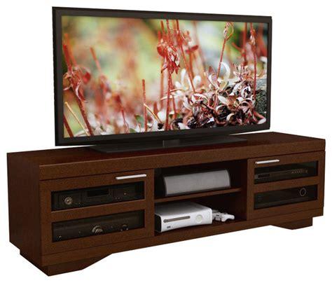 Glass Kitchen Wall Cabinets sonax granville 66 quot warm cinnamon wood veneer tv stand in