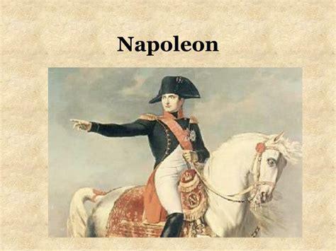 napoleon bonaparte biography ppt ppt napoleon powerpoint presentation id 2732803