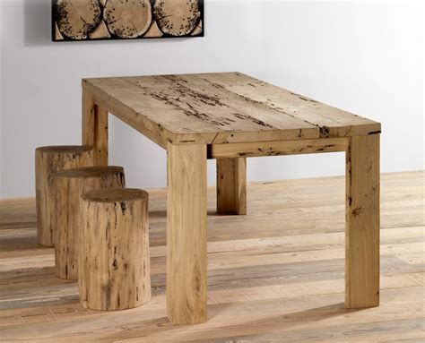 tavoli di legno grezzo tavolo in legno di briccola venezia tavolo legno briccole