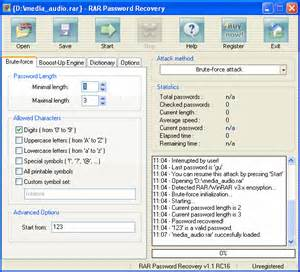 Resume Dictionary by Rar Password Recovery File Extensions