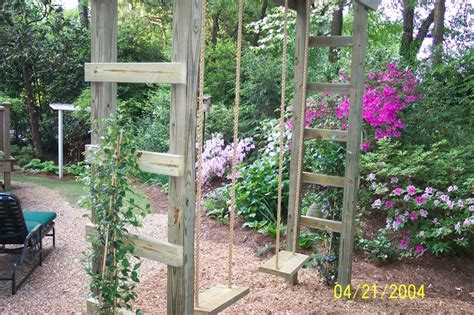 arbor swing set how sweet an arbor swing set gardening woodland