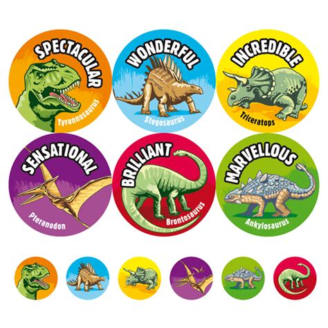 printable dinosaur stickers dinosaurs stickers