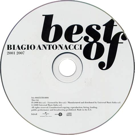 the best of biagio antonacci car 225 tula cd de biagio antonacci best of biagio antonacci