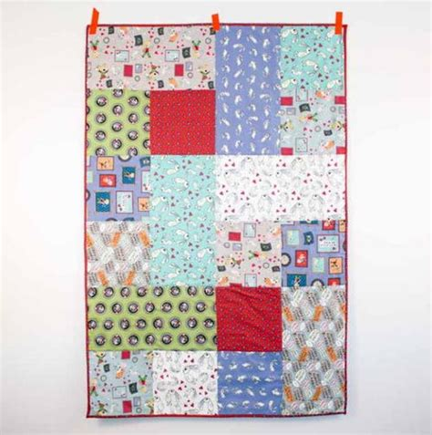 Simply Quilt by Simply Baby Quilt Pattern Allfreesewing