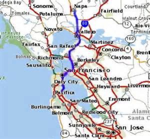 Map From San Francisco To Napa Valley by Similiar Map Of Napa And San Francisco Keywords