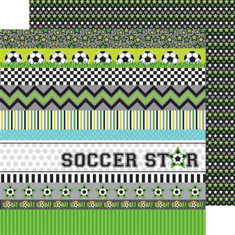 doodlebug goal doodlebug design goal collection 12 x 12 sided