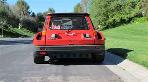 renault turbo for sale renault r5 turbo 2 on california plates for sale