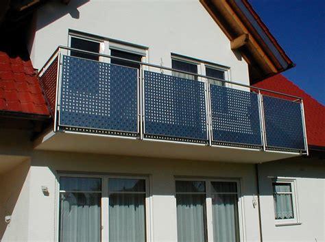kosten balkongeländer edelstahl balkongelnder edelstahl mit glas kosten innenr 228 ume und