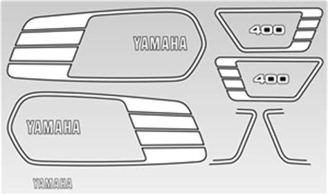 Yamaha Xs Aufkleber by Bikeletters Schriftz 252 Ge Und Mehr Muster Yamaha