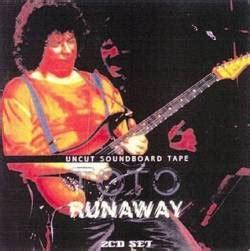 Runaway Is Going To Be In A Rock Opera by Toto Runaway Bootleg Spirit Of Rock Webzine Fr