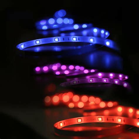 led strip lights amazon yeelight smart wifi led light strip rgb wireless strip
