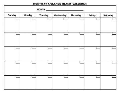 1 Calendar Month Fill In Calendar Free Calendar Template