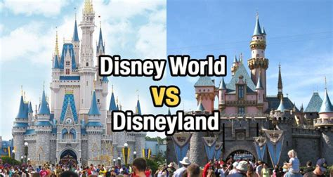the better disney disney world vs disney land smackdown top 5 differences between disney world and disneyland
