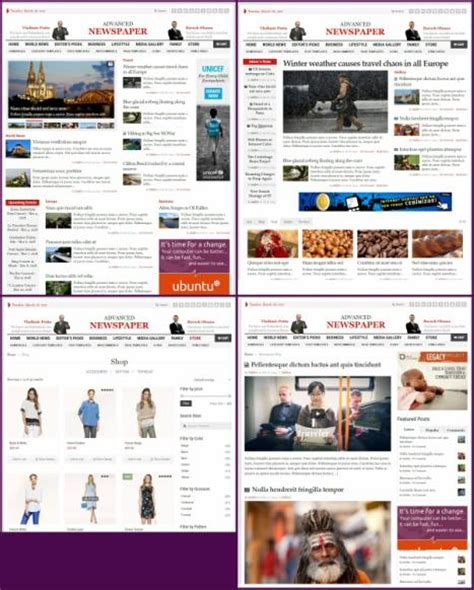 theme advanced newspaper advanced newspaper theme review gabfire worth