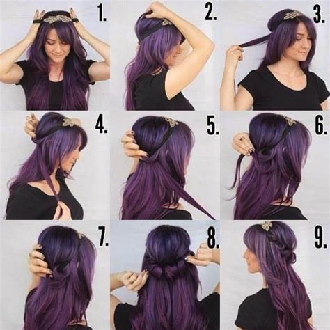 hairstyles with a hair band easy to make ringlet hairband hairstyle fashion style