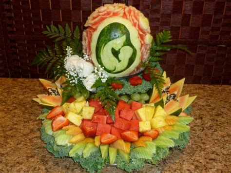 Watermelon Crib For Baby Shower Gallery Eye Catching Edibles