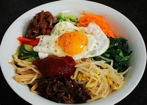 bibimbap mixed rice with vegetables recipe maangchi com linkis com