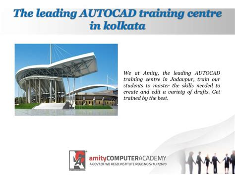 Autocad Tutorial In Kolkata | ppt leading autocad training centre in kolkata