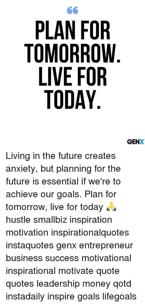 Plan For Today Quotes