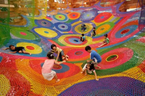 painting to play now crochet playgrounds by toshiko horiuchi macadam colossal