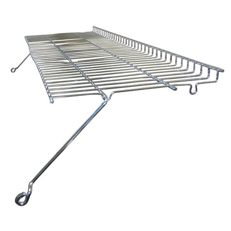 heavy duty bbq parts 03511 chrome steel wire warming rack