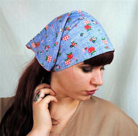 free pattern for triangle head scarf vintage 60s bandana head scarf kerchief head scarfs