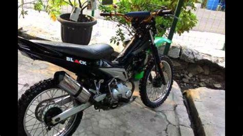 modifikasi motor bebek modifikasi motor bebek jupiter mx semi trail standar