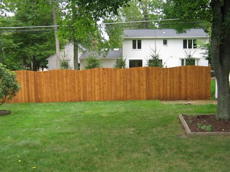 Staining Wood Fence Ideas Bitdigest Design Wood Fence Backyard
