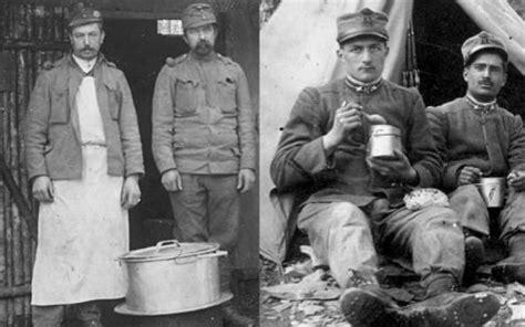 alimentazione prima mondiale il friuli il rancio nella prima mondiale