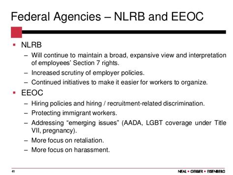 nlrb section 7 the nlrb has lost its way what s an employer to do