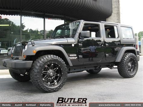 20 Wheels For Jeep Wrangler Jeep Wrangler With 20in Fuel Hostage Wheels Exclusively