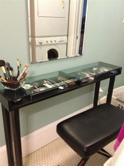 diy makeup vanity from ikea parts for the project you ll