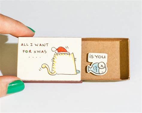 tiny handmade matchbox gifts with hidden messages blog