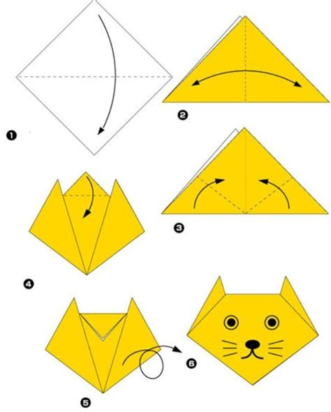 Best Easy Origami - free coloring pages 17 best ideas about simple origami