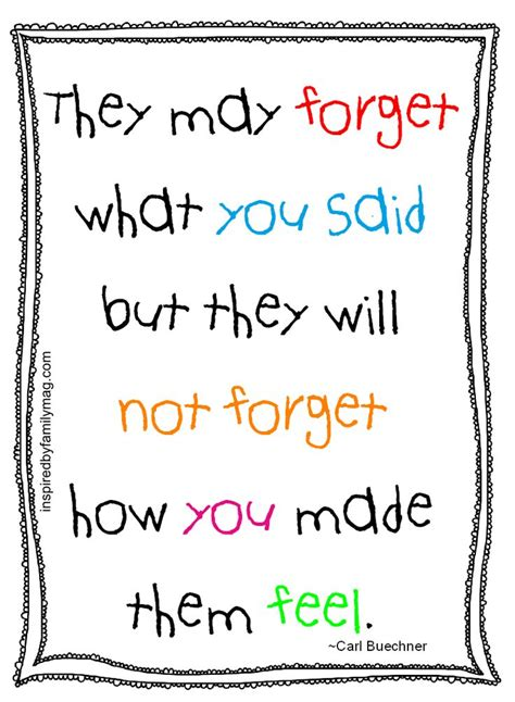 printable quotes for students what students remember most about teachers teaching i